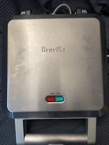"Breville Stainless Personal Non Stick Mini Pie Maker Model BPI640XL  4 - 4"" Pies"