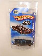 VERY RARE HOT WHEELS BATMAN '66 BATMOBILE FACTORY MIS-PRINT NO RED PRINT ON CAR