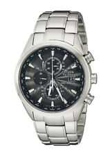 NEW Citizen Eco World Chronograph Radio Controlled AT8010-58E FREE SHIPPING