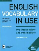 English Vocabulary in Use Pre-Intermediate and Intermediate Book, Stuart Redman