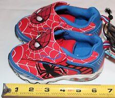 Marvel Ultimate Spiderman Light up shoes Toddler Boys size 7
