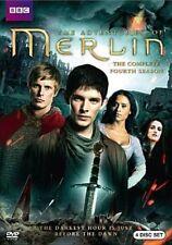Merlin Complete Fourth Season 0883929288618 With Eoin Macken DVD Region 1
