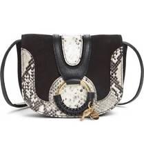 SEE BY CHLOE NWT, HANA MINI LEATHER CROSSBODY BAG  BLACK $330.00