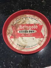 "Vintage 12"" Rheingold Extra Dry Lager Beer Serving Tray"