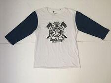 Element Baseball Style, Raglan 3/4 Sleeve Casual Shirt, M