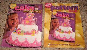 VINTAGE~1998 WILTON CAKE DECORATING YEARBOOK MAGAZINE & PATTERN BOOK~GD/VGC