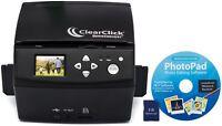 ClearClick 20 MP QuickConvert Photo, Slide, 35mm Negatives Converter Scanner