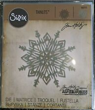 Tim Holtz Sizzix Thinlits Flurry #4 Die RRP £ 7.00