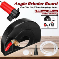 Upgrade 5'' Angle Grinder Water Slotting Guard Dust Cover Wet Grinding Tool Pump