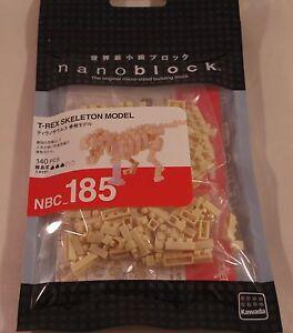Kawada Nanoblock Mini T-REX SKELETON MODEL - japan building toy block NBC_185