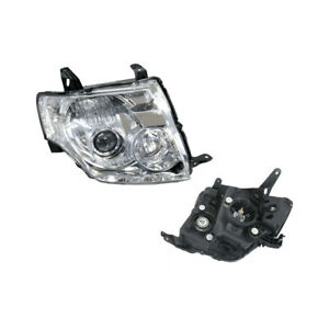 Headlight Right for Mitsubishi Pajero Exceed/VRS NS/NT 11/2006-11/2010 Halogen