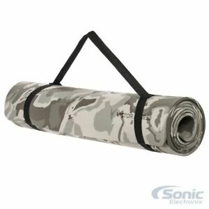 Victor Fitness VYGC2 Premium Non-Slip Texture TPE Yoga Mat Gray Camouflage