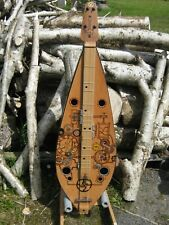 More details for hand made dulcimer steam punk 4 string hand crafted wooden instrument