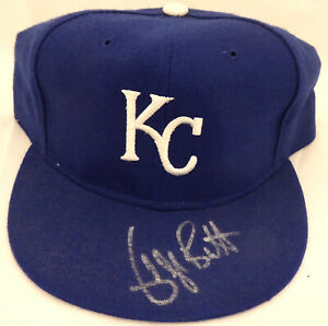 George Brett Authentic Autographed Signed Kansas City Royals Hat Beckett S99732