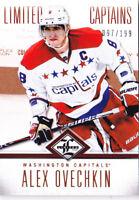 12-13 Limited Alex Ovechkin /199 CAPTAINS Capitals 2012