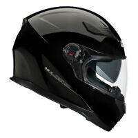 GIVI CASCO INTEGRALE FULL FACE SNIPER 50.4 NERO MOTO SCOOTER HELMET BLACK