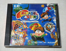 NEC PC ENGINE Hu card PARASOL STARS TAITO Japan RARE! BUBBLE BOBBLE II #2