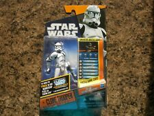 SEALED Star Wars Saga Legends CLONE TROOPER SL16 Action Figure Galactic Battle