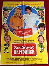 Kinderarzt Dr. Fröhlich Kinoplakat Poster A1 Roy Black, Eddi Arent, Thomalla '72