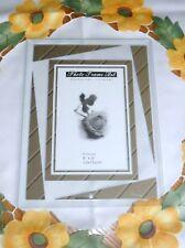 Bilderrahmen 10x15 cm aus Glas, modern, rahmenlos, formschön - NEU und OVP