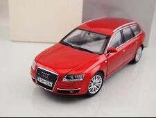 1:18 NOREV Audi A6 Avant Die Cast Model Red