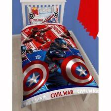 Linge de lit et ensembles rouge Marvel à motif Pour enfant