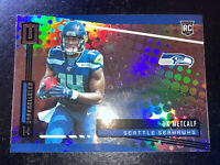 2019 Unparalleled DK Metcalf Rookie RC #249 Holo Foil Refractor Base Seahawks