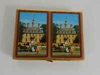 Vintage Congress Canasta Playing Cards Governor's Palace Williamsburg