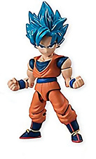 Dragon Ball Super 66 Action Dash Saiyan Goku Mini Action Toy Figure Anime Art