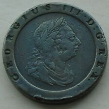 More details for 1797 george iii cartwheel twopence, 41mm 57.01g s3776, large original coin