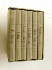 6 Volume Book Set of RELIGIONS OF THE WORLD 1962 - Buddhism Hinduism Catholicism
