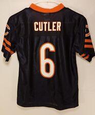 Chicago Bears JAY CUTLER NFL team Apparel  Jersey Shirt YOUTH KIDS BOYS L 10-12