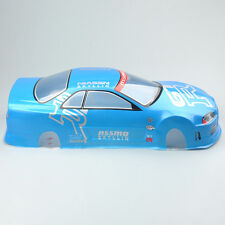 190mm Body Shell For 1/10 RC On Road Drift Car With Rear Ring PVC 020B Blue
