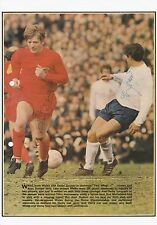 ALAN DURBAN WALES 1966-1972 & ALAN MULLERY ORIGINAL SIGNED MAG PICTURE CUTTING