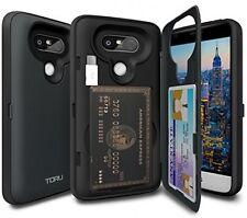 LG G5 Case, TORU [CX PRO] G5 Wallet Case - [CARD SLOT][ID HOLDER] Protective LG