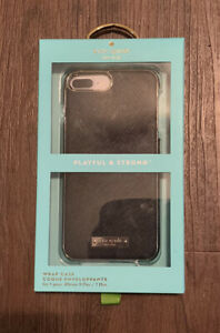 Kate Spade Wrap Saffiano Leather Hard Case for iPhone 7 Plus/ 8 Plus - Brand New