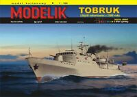 "GENUINE PAPER-CARD MODEL KIT - ""TOBRUK"" Format A3"