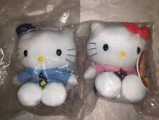1999 McDonald's Asia Hello Kitty & Dear Daniel Plush in McDonald employee outfit