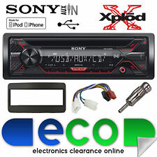 Toyota Yaris Verso 99-05 Sony G1200U CD MP3 USB Aux Iphone Car Radio Stereo Kit