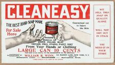 C.1900 American Card Ink Blotter - Cleaneasy Hand Soap