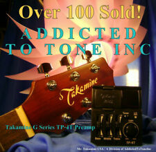 Takamine Tp-4t G Series Acoustic Guitar Preamp OEM Part / Authorized Dealer