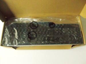 Dell 01RW52 Slim Black USB Multimedia Keyboard With Volume Control