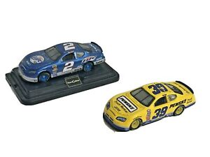 NASCAR 1:64 HO Kurt Busch #2 Miller Lite Charger  and #39 Penske Charger P8