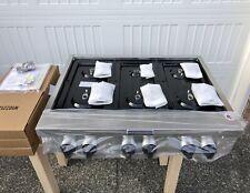 New* KitchenAid® 36� Rangetop Cooktop Stove Stainless Ng Nat Gas (or Lp Propane)