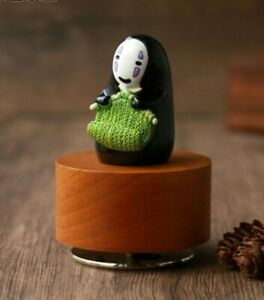 SPIRITED AWAY NO FACE WEAVING MUSIC BOX : ALWAYS WITH ME