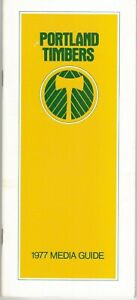 1977 Portland Timbers Media Guide, North American Soccer League, NASL