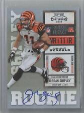2010 Contenders Football Jordan Shipley Rookie Ticket Autograph Card # 222