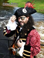 """Custom Made Pirate Frock Coat with all the """"bells and whistles"""""""