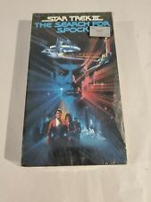 Star Trek III The Search For Spock VHS Sealed