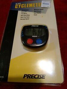 Vtg PRECISE XC 944  Cyclemeter Speedometer Odometer Dual Display Water Resistant